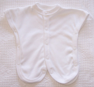 Picture of a NICU safe sleepsuit