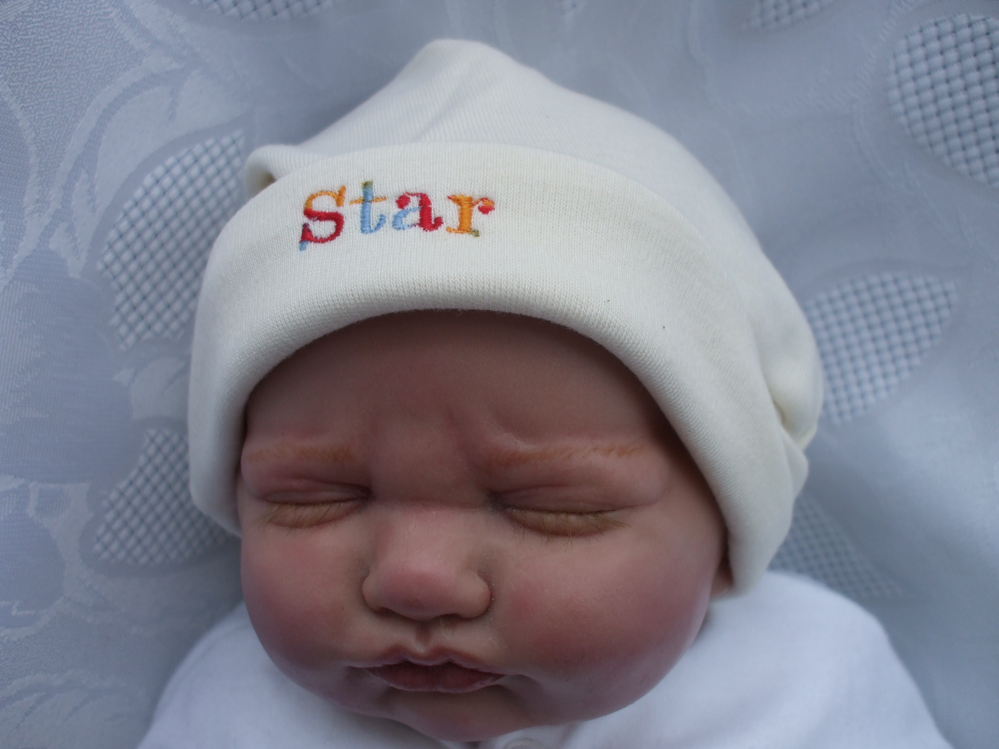 Newborn Slogan Hat STAR