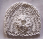 Bamboo Hand Knitted premature baby Hats Size 3-5lbs